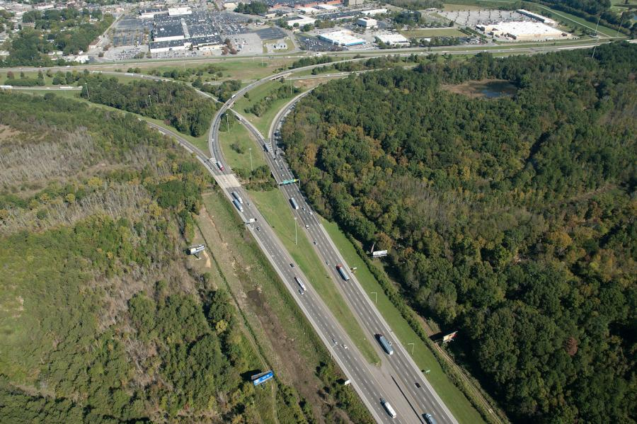 Just when commuters were thinking their driving headaches were ending, officials with the Tennessee Department of Transportation (TDOT) said the I-75/I-24 Split will remain a bottleneck until additional lanes contained in Phase 2 of the project are done in the years to come. (TDOT photo)