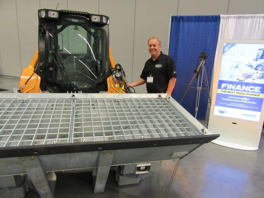 David Peters of Arctic Snow and Ice Products discussed the company's rollout of the DoubleDown salt bucket as a stock item. Designed and engineered to be dedicated to a property and galvanized for corrosion resistance, the unit provides salt on demand with daytime salting capabilities.