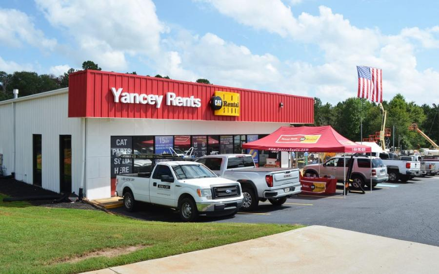 The new branch facility of Yancey Rents in the Athens, Ga., area is located at 50 Trade Street in Bogart, Ga.
