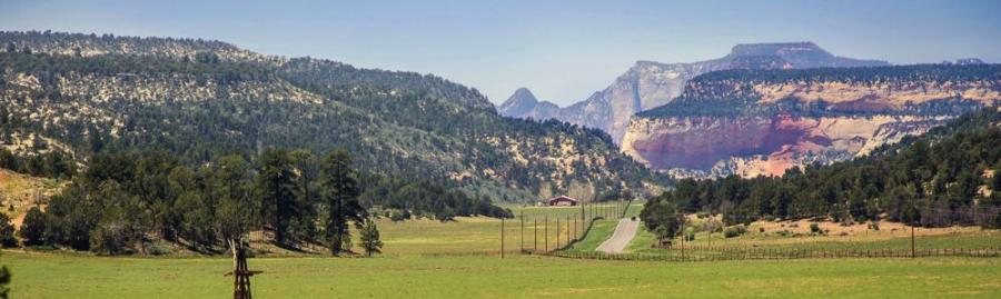 The East Zion Initiative adds 24.5 mi. to a 10-mi. loop, built in the first phase of the project, connecting riders to a new East Zion Visitor center.