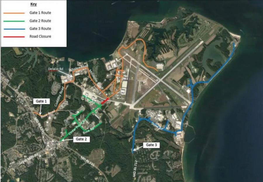 The primary goal of the naval air station's new study is to evaluate the levels and patterns of traffic at the intersection before commencing with the proposed work: the repair and construction of Taxiway Alpha repair and an eventual fence line enclosure of the entire airfield itself.