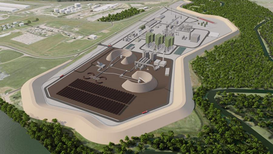 A concept drawing for the new Bayou Fuels refinery. Construction is slated to start in 2023.