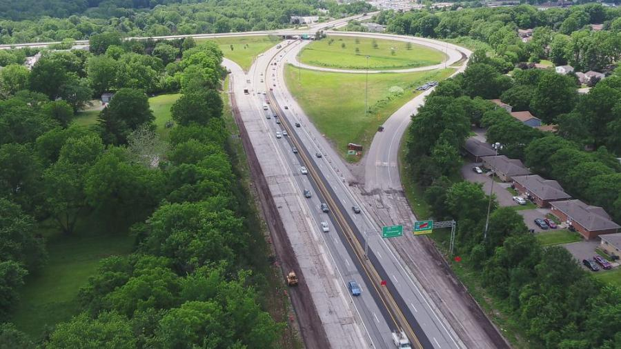 The Ohio Department of Transportation (ODOT) is overseeing a $161 million project that will make significant improvements around the Akron Beltway. (ODOT photo)