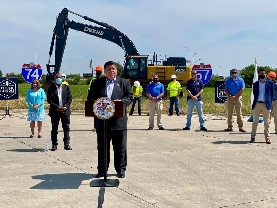 Gov. JB Pritzker and IDOT on Aug. 23 announced the start of construction on a new Interstate 57/74 interchange. The $216.8 million project will rebuild the original interchange built more than 50 years ago.