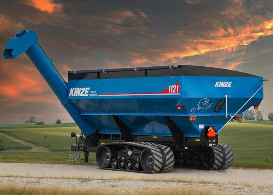 A new model is the dual auger Harvest Commander 1121 with 1,100 bu. capacity.