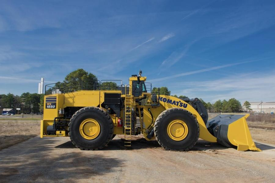 The WE1850-3 wheel loader can help maximize productivity.