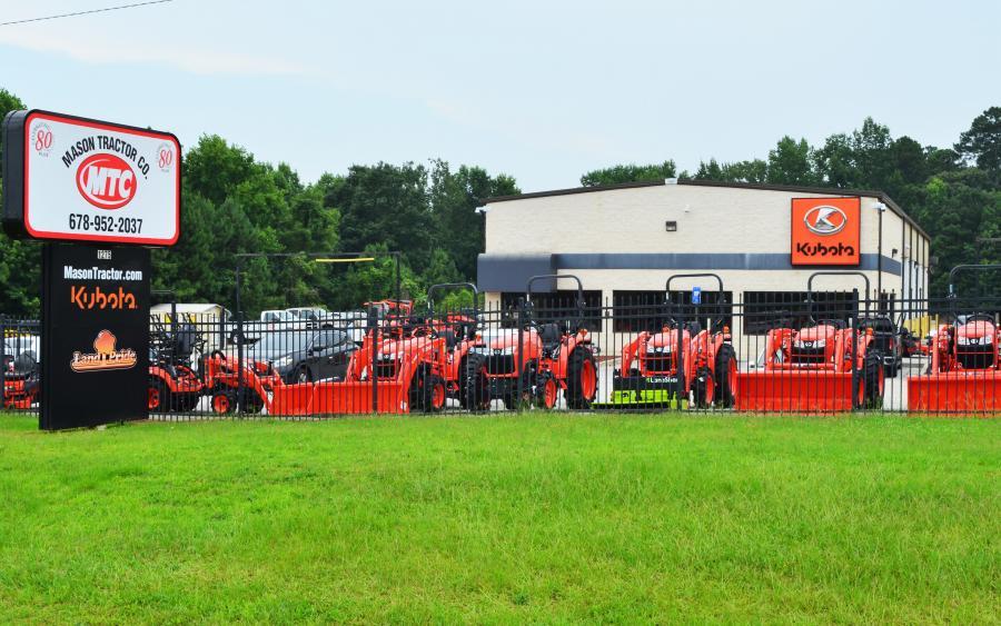 The newest branch of Mason Tractor Company is located at 1275 Carrollton-Villa Rica Hwy. in Villa Rica, Ga.