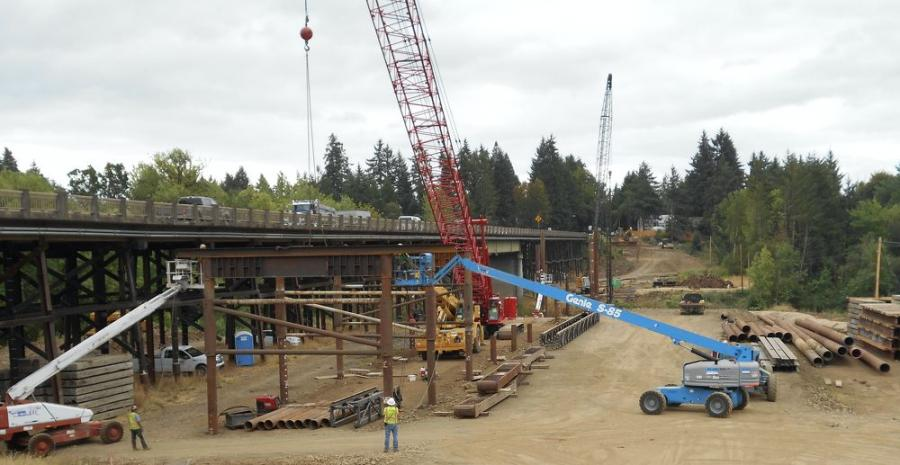 ODOT originally considered building a new bridge without first constructing a diversion bridge, but decided a straight bridge replacement would put too much stress on the nearby neighborhoods.