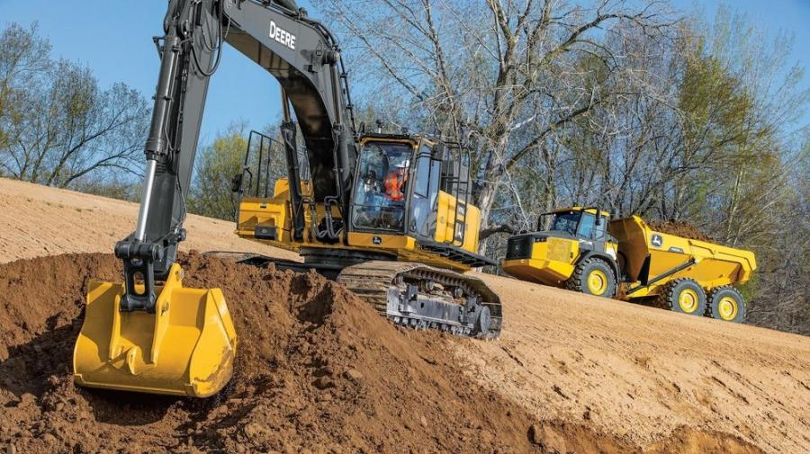 Like the rest of the G-Series lineup, the 470G LC excavator is productive and efficient from deep trench work to various site development projects.
