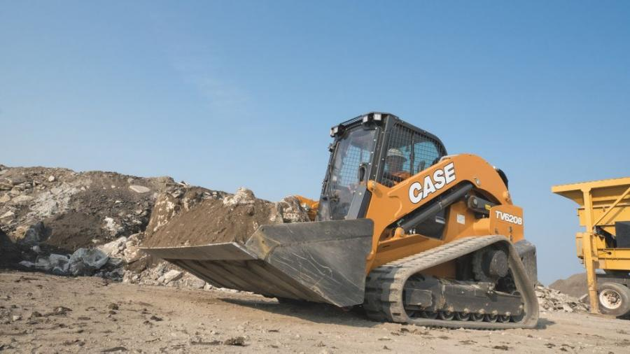 The Case TV620B compact track loader