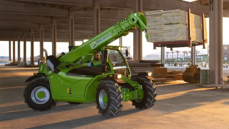 AMS-Merlo supplies and supports a range of Merlo telehandlers and rotating telehandlers with weight capacities from 6,000 lbs. up to 26,500 lbs.