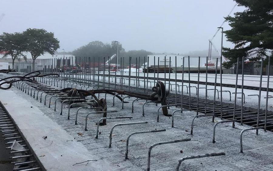 For safety reasons, RIDOT cannot work without the supervision of Amtrak personnel. This, coupled with utility work delays, has pushed back the opening date.