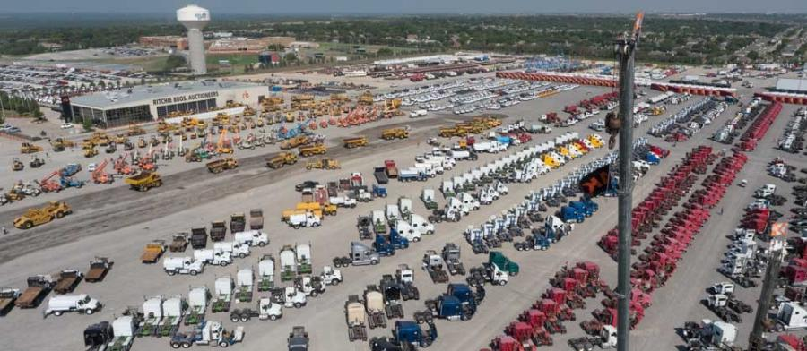 Approximately 92 percent of the assets in the September Fort Worth auction were sold to U.S. buyers, including 43 percent to Texans.