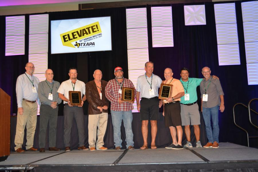 In the SM Full Depth Large project category, Hunter Industries, Colorado Materials and TxDOT's Yoakum district were honored for their work on U.S. 59 in Jackson County.