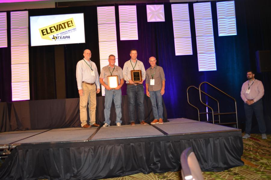 RK Hall Construction and the Amarillo TxDOT office won multiple awards, including for work on U.S. 60 in Carson County in the DG Full Depth Medium size project category.