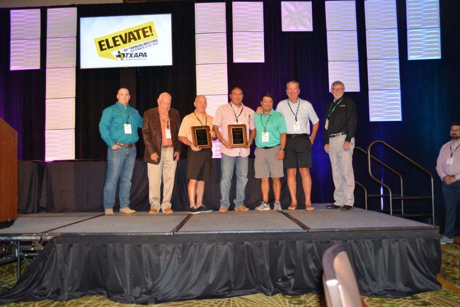 Hunter Industries and Colorado Materials received an award for its  collaboration on the Harris Hill Raceway paving project in San Marcos.