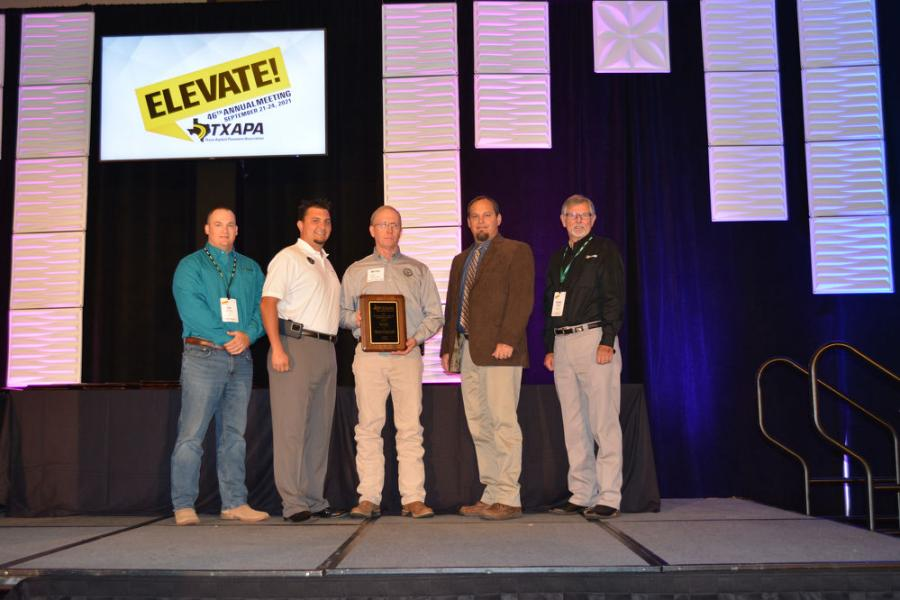 The City Street paving award went to the city of Kerrville for its 3rd Street repaving work.