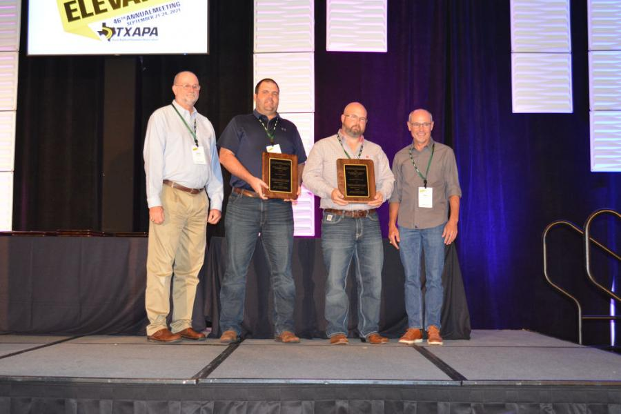 Big Creek Construction of Hewitt and the TxDOT Waco District were recognized in the SM Full Depth Small project category for its work on SH 14 in Limestone County.