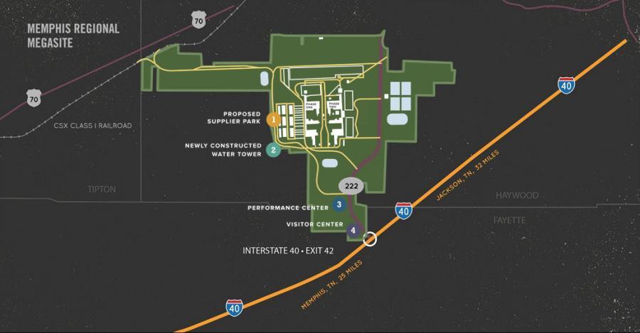 Site concept map