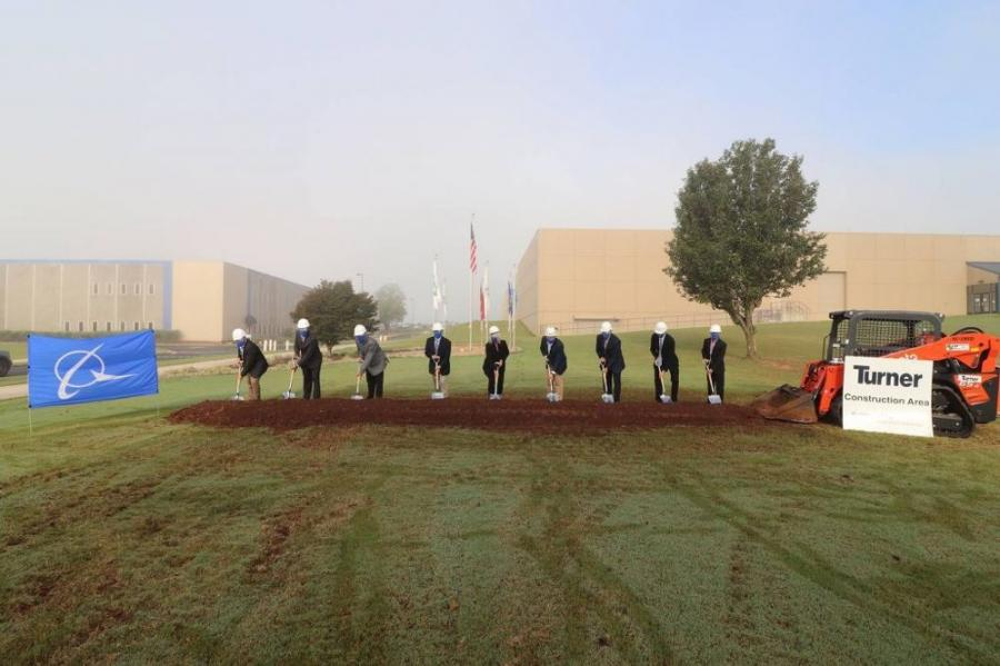 A groundbreaking ceremony was held to kick off the 9,000 sq. ft. expansion of the Huntsville Electronics Center of Excellence.