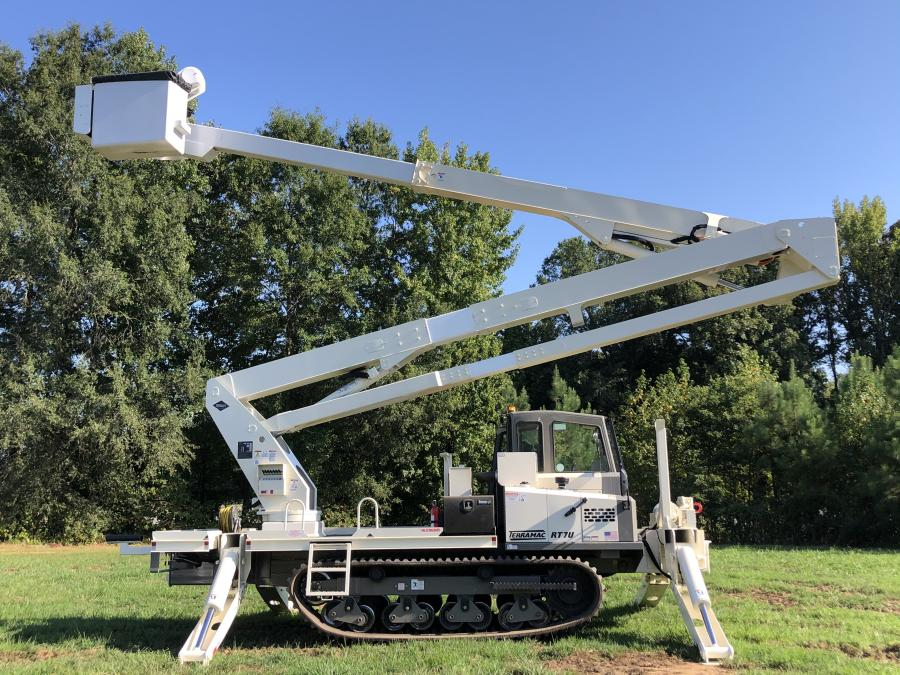 The all-new Terramac RT7U is purpose-built for utility applications and capable of accommodating a wide array of support equipment.