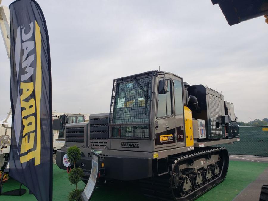 The Terramac RT14 with Supervac vacuum excavator was on full display during the Utility Expo.