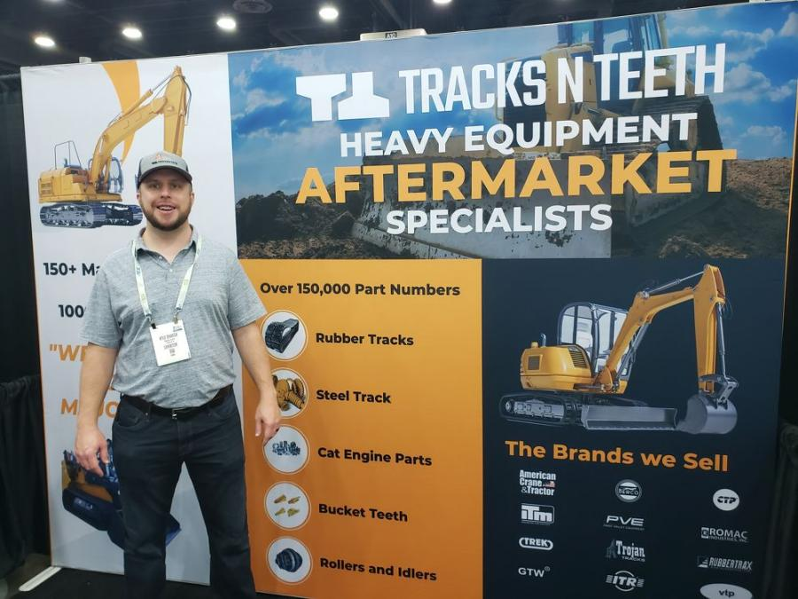 """Kyle Sharick, CEO and founder of Tracks N Teeth, is excited to discuss how his company is """"changing the way you shop for replacement parts."""""""