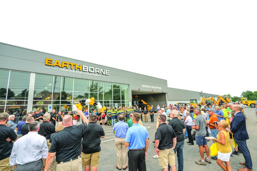 Hundreds of customers and friends gathered to celebrate the grand opening of the new facility.
