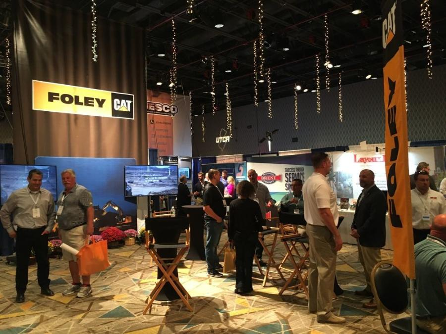 As has been the case for many years at the UTCA annual convention, Foley Inc. took center stage in the exhibit hall as guests enter the trade show.