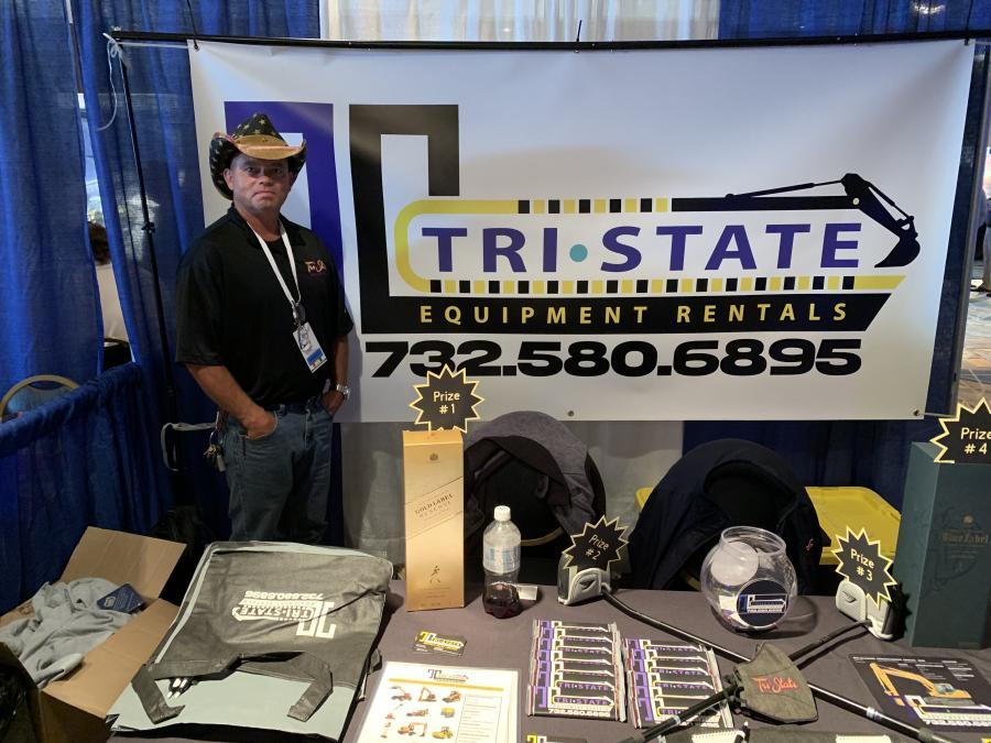 Mike O'Gara represents Tri State Equipment, based in Tinton Falls, N.J.