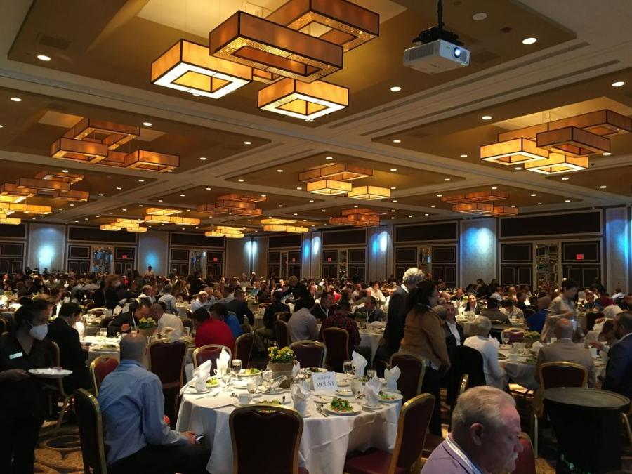 With its vibrant and active membership, the UTCA Convention is always well-attended in Atlantic City, N.J. Here, members gather during the Keynote Luncheon on Oct. 1.