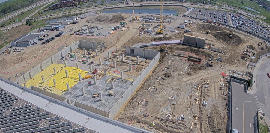 Gilbane Construction Company crews have completed about $36 million worth of work on the project.