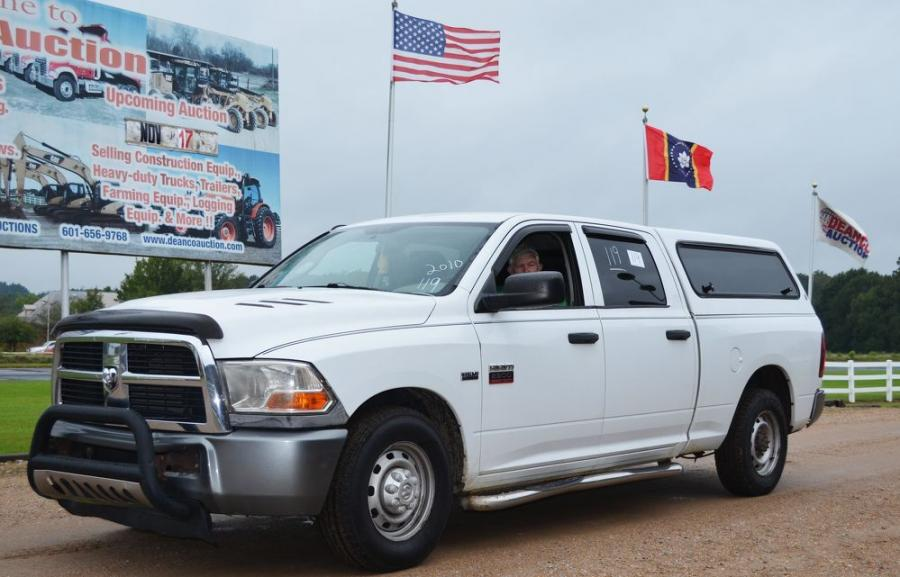 """Charity runs deep in the south. A regular consignor at the Deanco sales dropped off this Dodge RAM 2500 heavy-duty and said """"auction it off and donate the entire amount to St. Jude's Children's Hospital."""""""