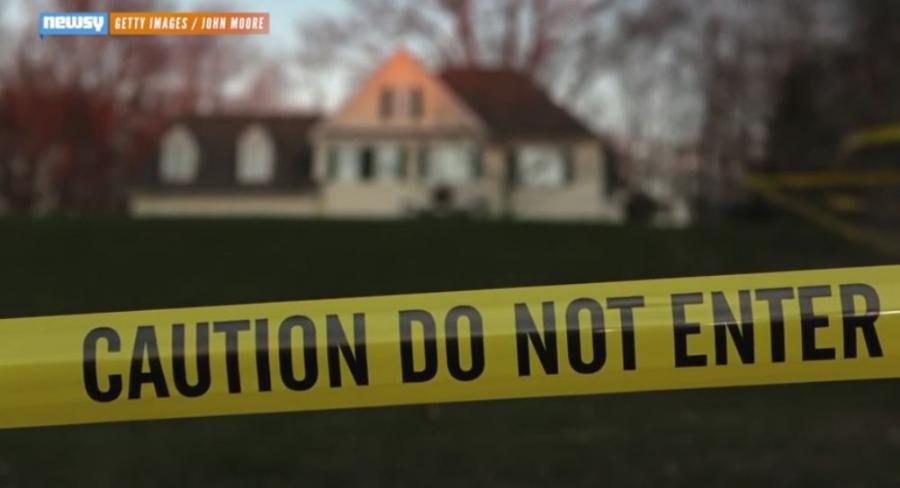 The home of the man who carried out the 2012 massacre at Sandy Hook Elementary school has been demolished, town officials said Tuesday. Image courtesy of Newsy.